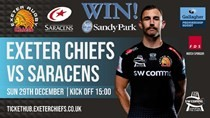 Exeter v Saracens ticket competitions