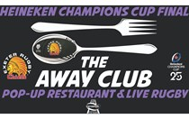 Away Club Restaurant for Euro Final