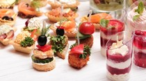 Canape Menus at Sandy Park Exeter