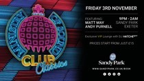 First Ministry of Sound night to be held at Sandy Park
