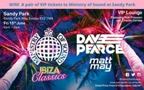 Win a pair of VIP tickets to Ministry of Sound at Sandy Park