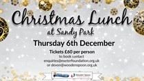 Wooden Spoon and Exeter Foundation Christmas Lunch